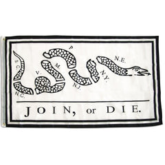 3x5 Ft Premium Nylon Join or Die Flag