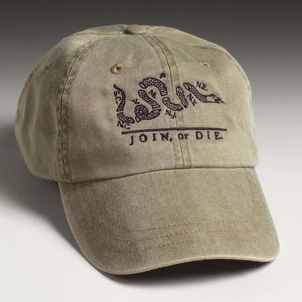 Join Or Die Hat - Olive - Gadsden and Culpeper 94a114bca5c
