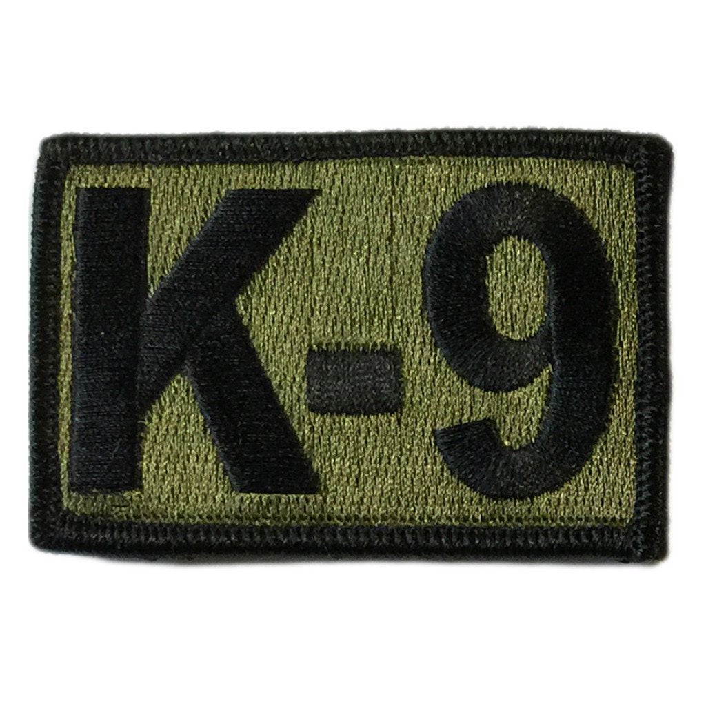 "K-9 Tactical Patches - 2""x3"""
