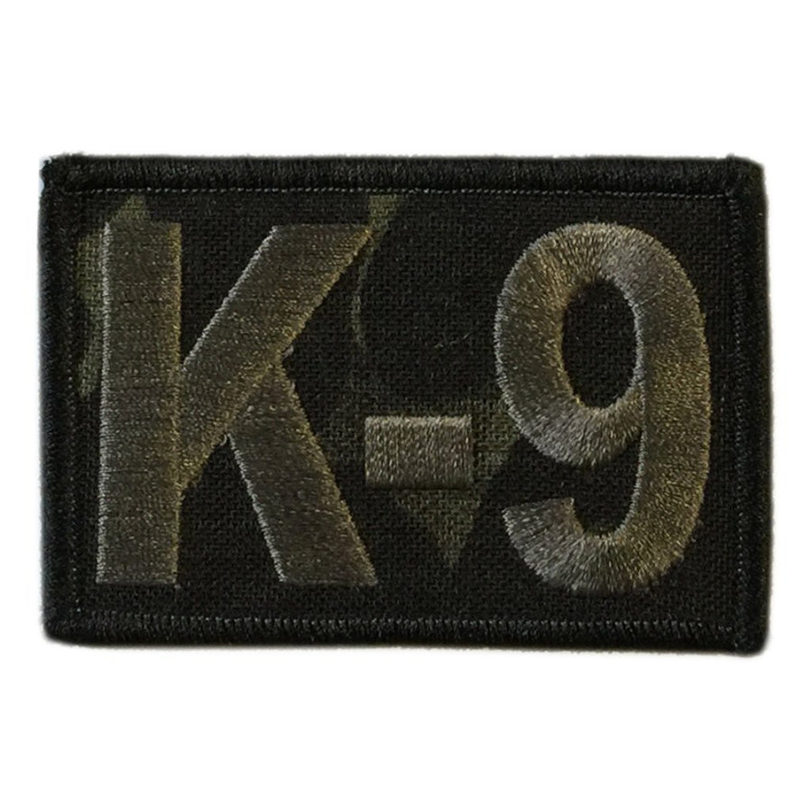 "MULTICAM-Black - K-9 Tactical Patch - 2"" x 3"""