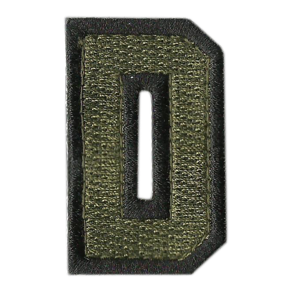 "Spell Anything - Tactical Letters -  2"" x 1.25"" - Military Green"
