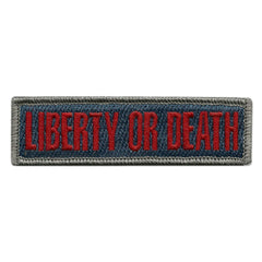 Liberty Or Death Morale Patches (Back of Hat)