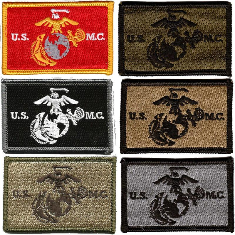 "2""x3"" Marine Corps Tactical Hat Patches"