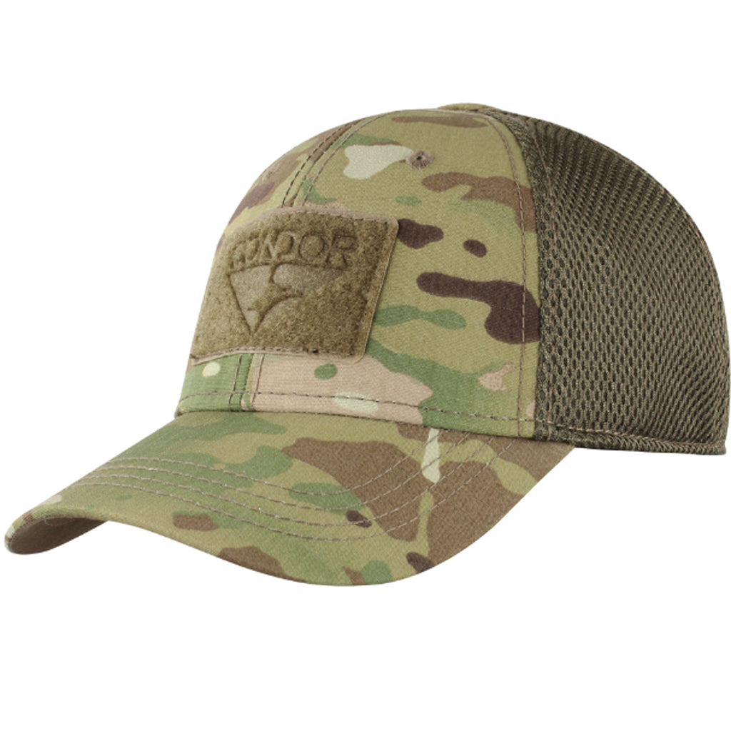 Mesh Condor Flex Tactical Cap - MULTICAM