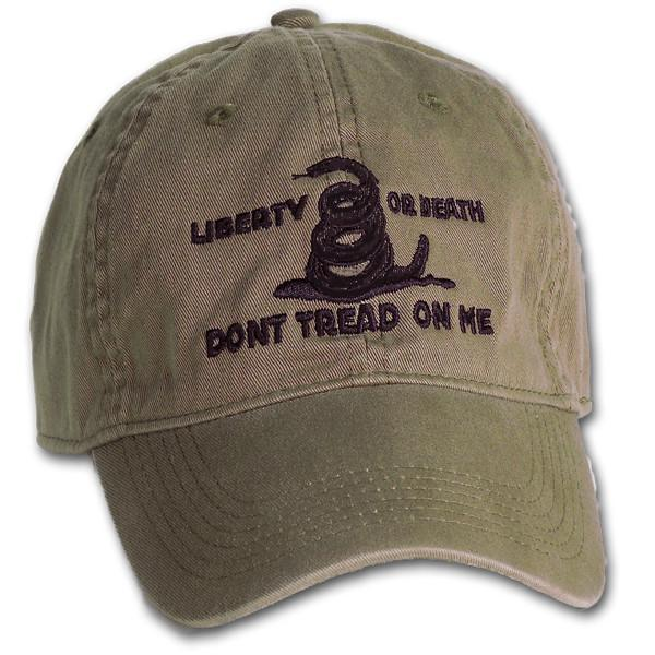 Military Green Liberty or Death Hat