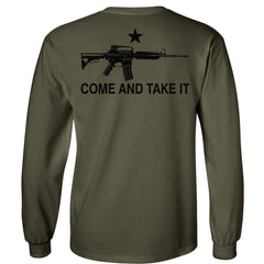 Olive Drab Come & Take It Longsleeve T