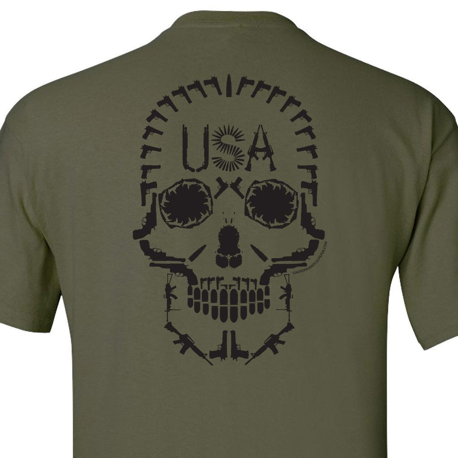 Warrior Mentality T-Shirt - Military Green