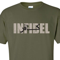 Military Green Infidel T-Shirt