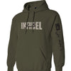 Military Green Infidel Hooded Sweatshirt