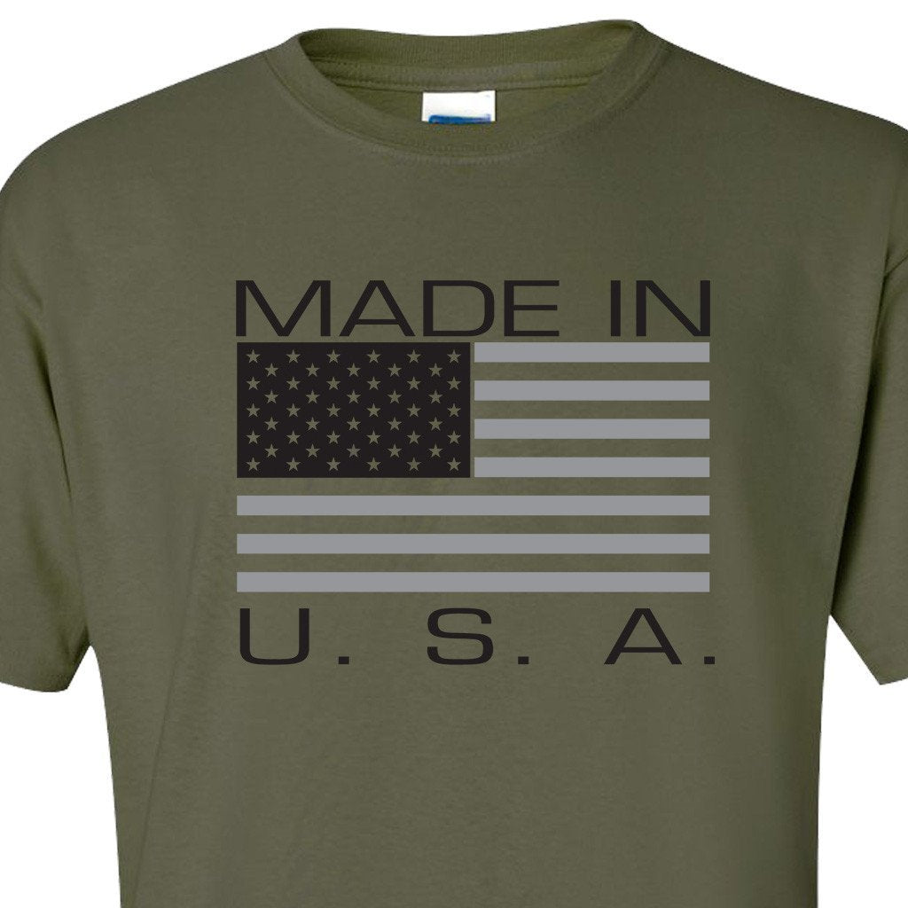 Made in USA Army T-Shirt