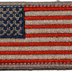 "Mini USA Flag Patches - 1.5"" x 2"""