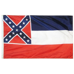 3x5 Ft Mississippi State Flag Nylon - Annin Co.