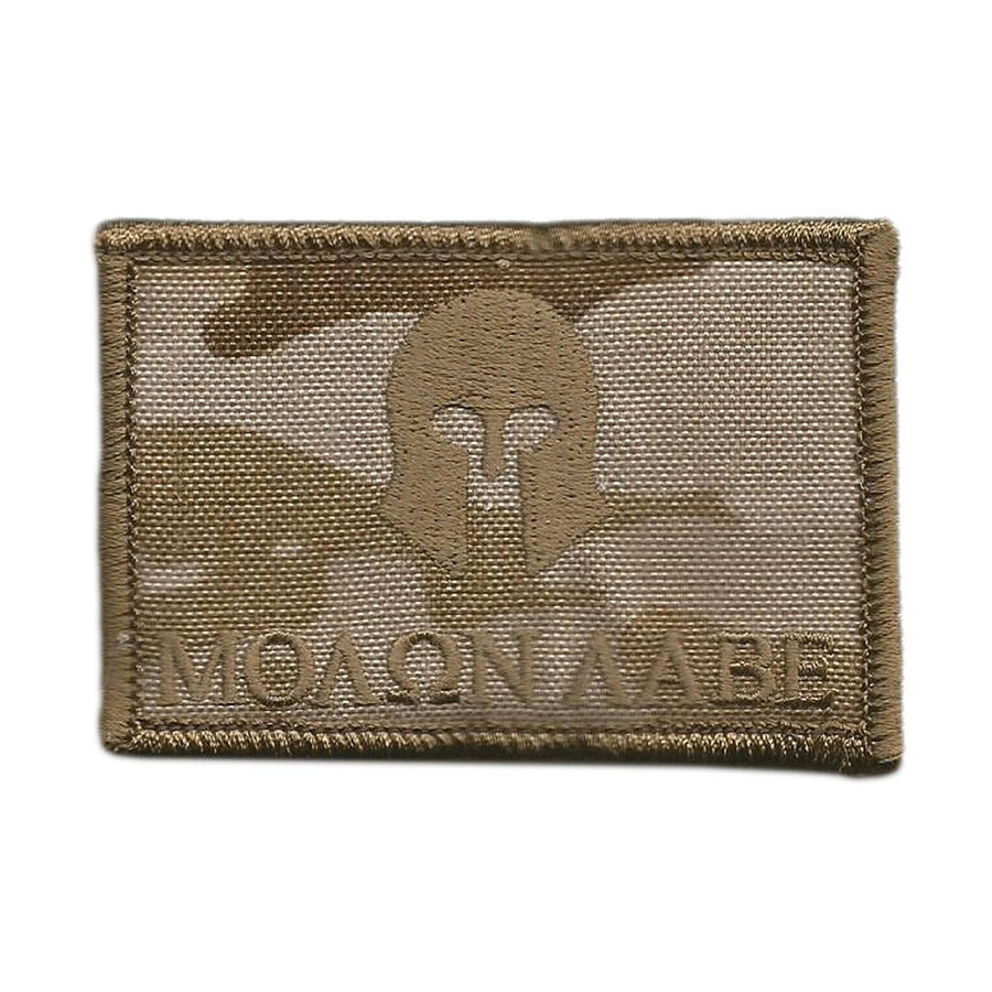 "MULTICAM-Arid - Molon Labe Tactical Patch - 2"" x 3"""