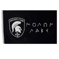 3'x5'  MOLON LABE Super-Poly Flag