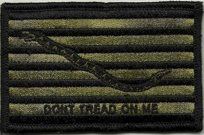 1st Navy Jack Shoulder Patch - Iron-On