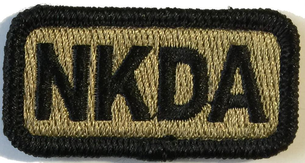 "NKDA Tactical Patches - 2""x1"""