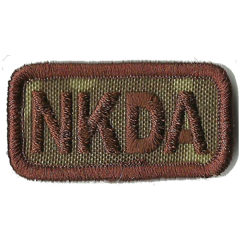 "MULTICAM - NKDA Tactical Patches - 2"" x 1"""