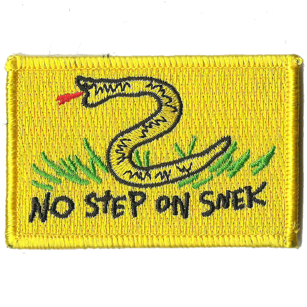"No Step On Snek - 2""x3"" Tactical Patch"