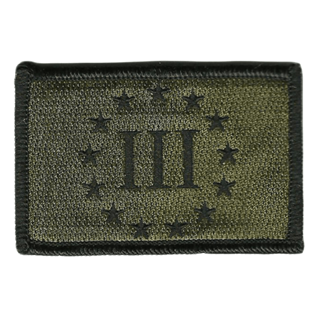 "2x3"" Threeper Emblem Tactical Patch"