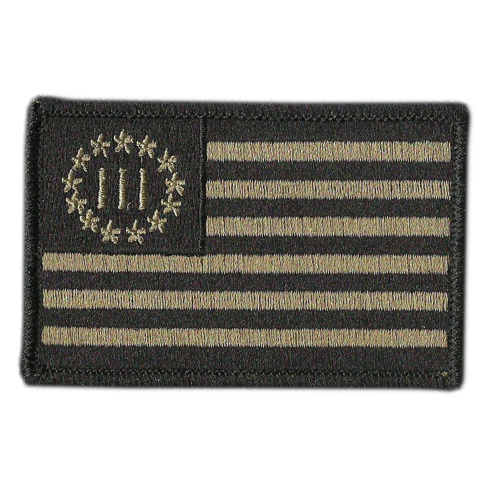 "Nyberg Three Percenters 2""X3"" Tactical Patch"