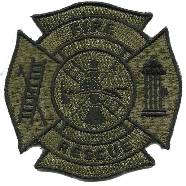 Fire & Rescue Shoulder Patches