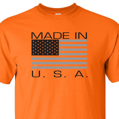 Made in USA -Worksite Orange