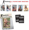 Tactical Girls Playing Cards