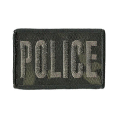 "MULTICAM-Black - Police Tactical Patch - 2"" x 3"""
