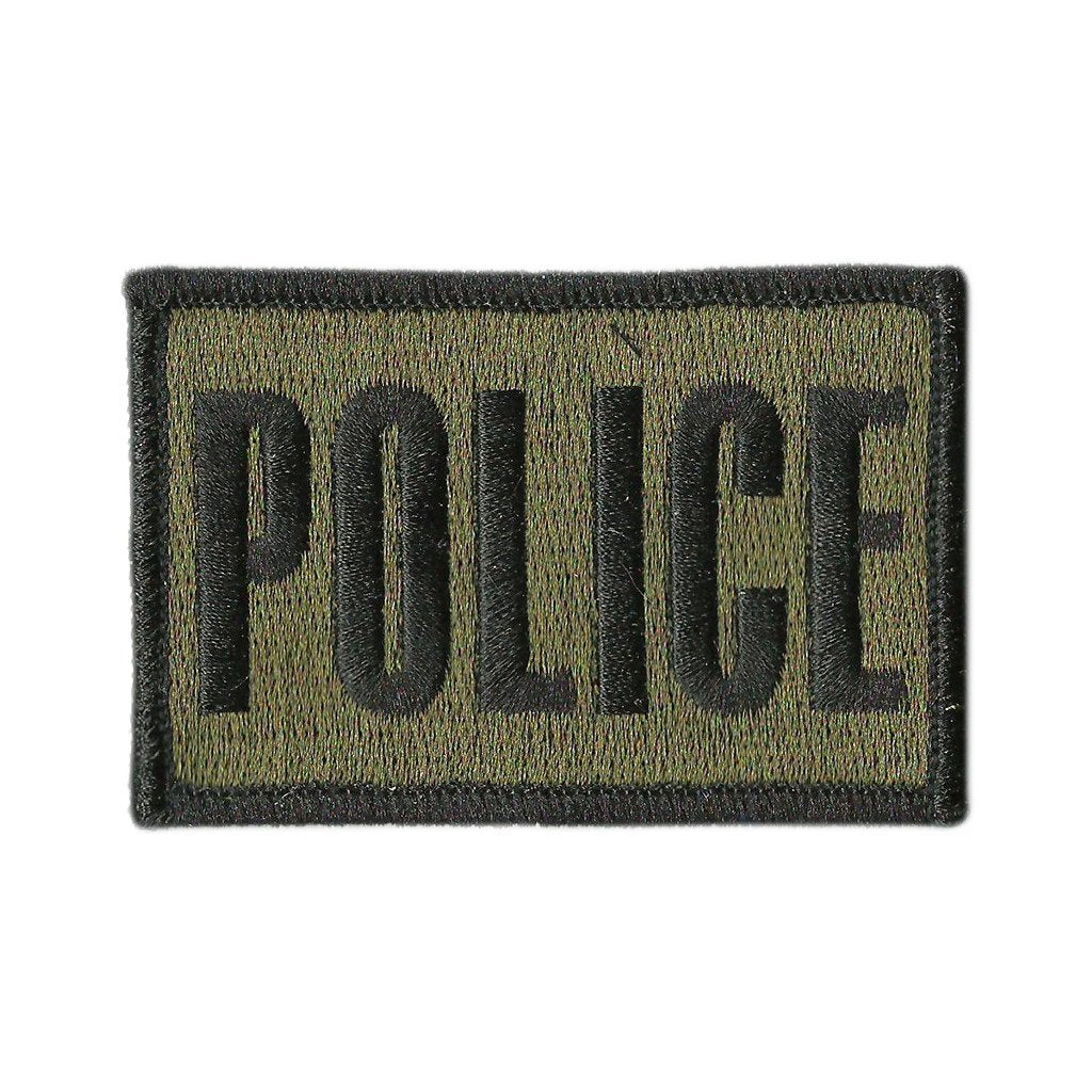 "2x3"" POLICE Tactical Hat Patch"