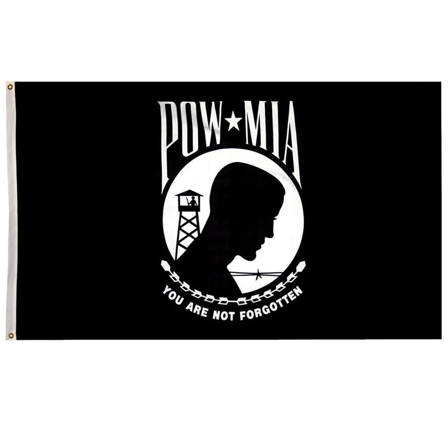 3x5 ft POW Double Sided Poly Flag
