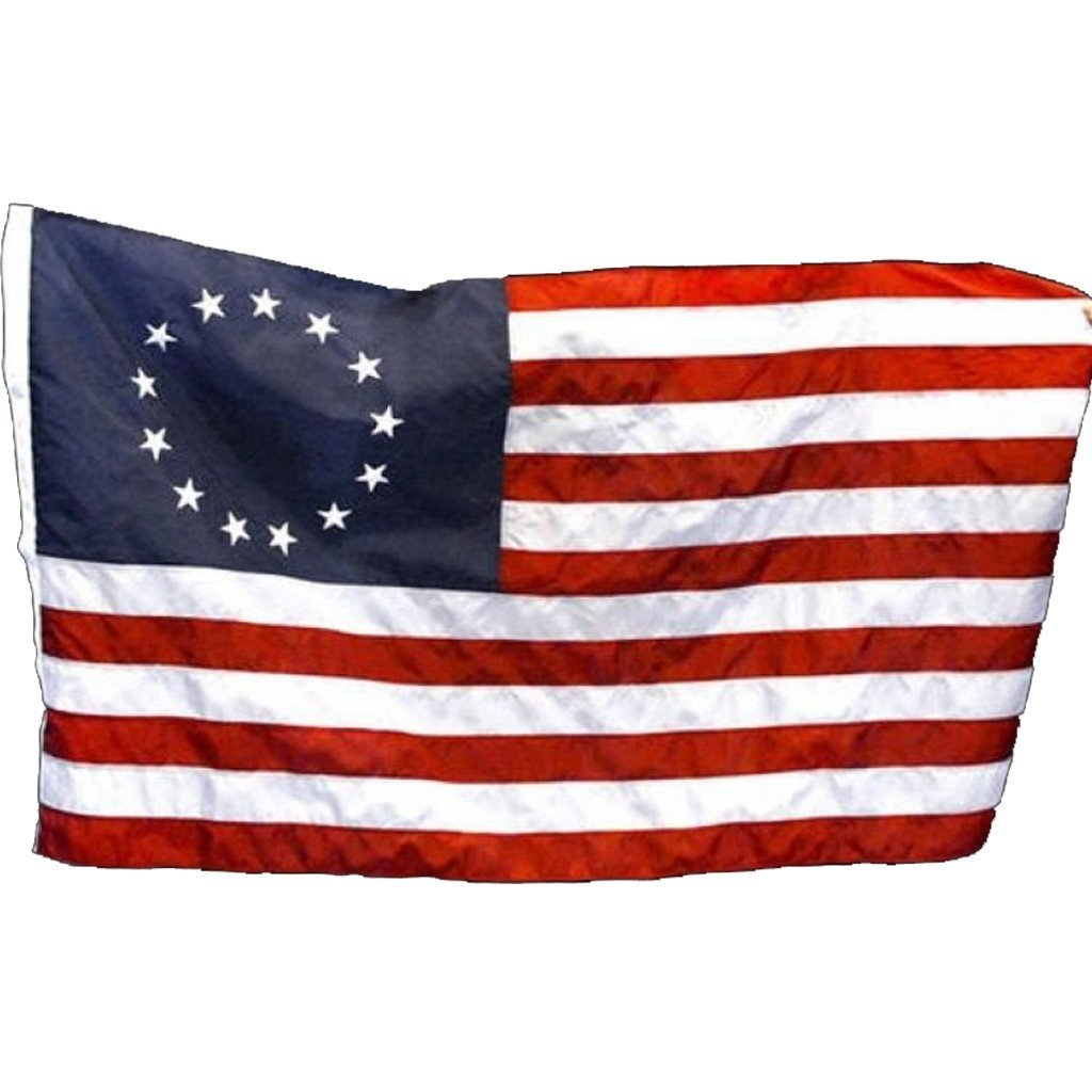 3x5 ft Betsy Ross Super-Poly