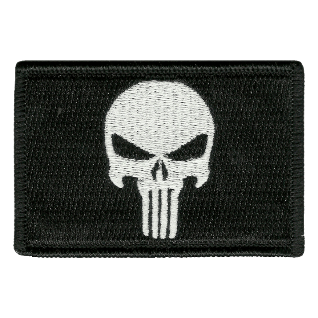 "2""x3"" Skull Tactical Patch"