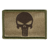 "2""x3"" Punisher Tactical Patch"