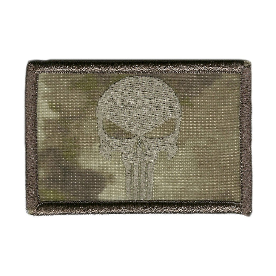 "ATACS-AU - Punisher Tactical Patch - 2"" x 3"""