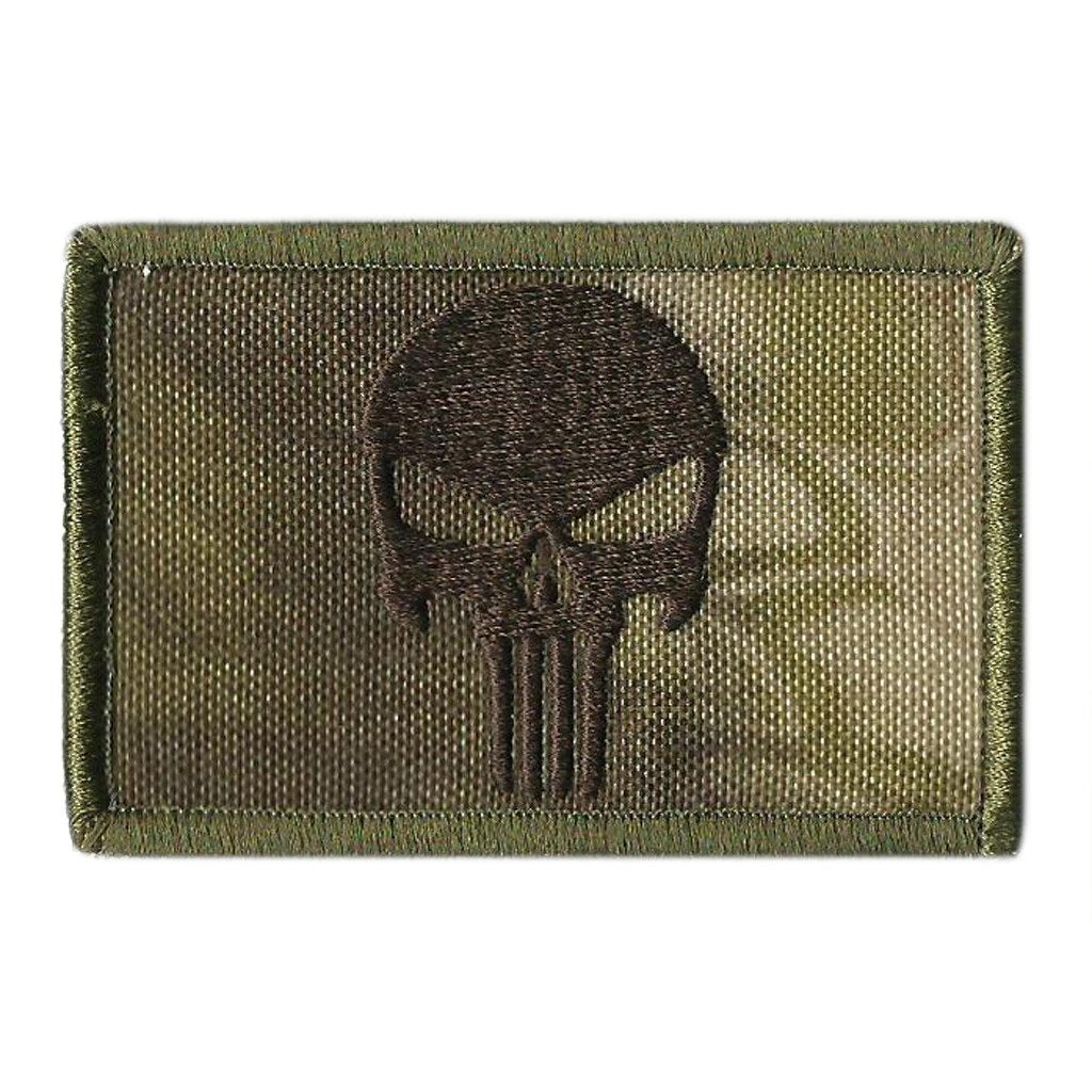 Kryptek-Highlander  Skull Tactical Patch
