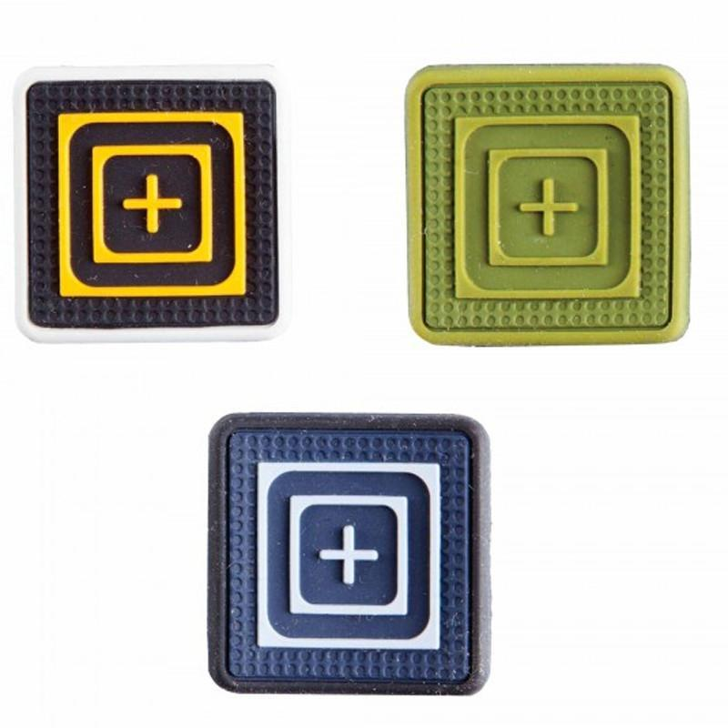 5.11 PVC One X One Scope Patches - 3-Pack