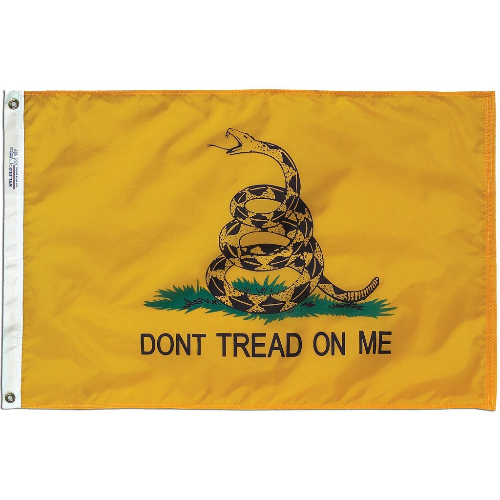 First Navy Jack Gadson Dont Tread On Me MILITARY FLAGS 3X 5FT Pow Gonzales