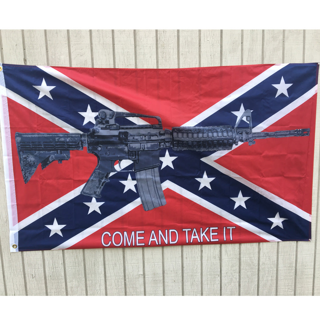 M4 Rebel - 3 x 5 ft Super Poly Flag