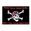 3x5 ft Pirate Rebel Born Poly Flag