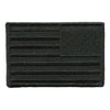 "2x3"" Reverse All-Black USA Flag Patch"