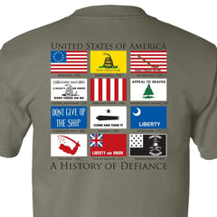 History of Defiance T-Shirt - Sage