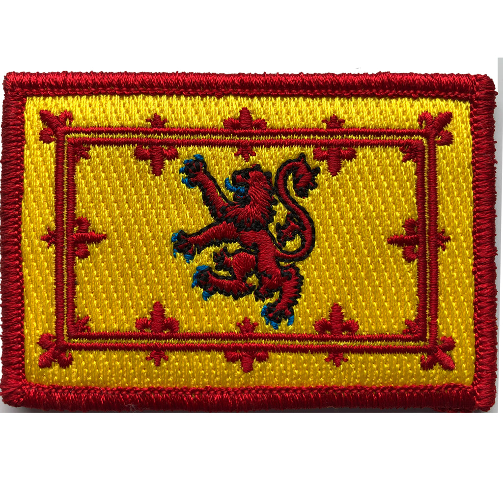 "2""x3"" Scotland Royal Banner Tactical Patch"
