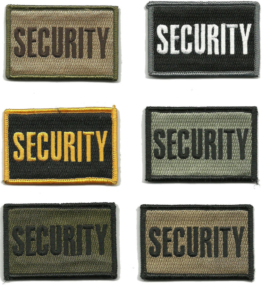"2"" x 3"" Security Tactical Patch"