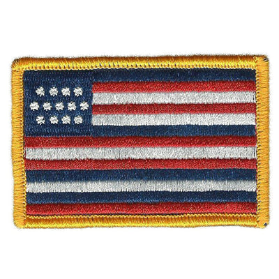 "2"" x 3"" Historical Serapis Flag Patch"