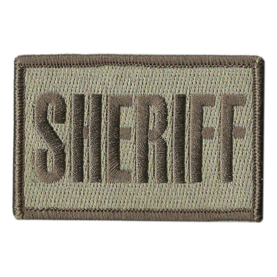 "2x3"" SHERIFF Tactical Hat Patch"