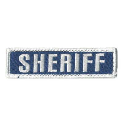 "SHERIFF Tactical Morale Patch - 1""  4"""
