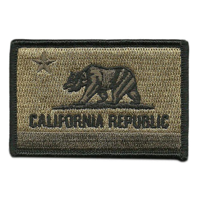 California - Tactical State Patch