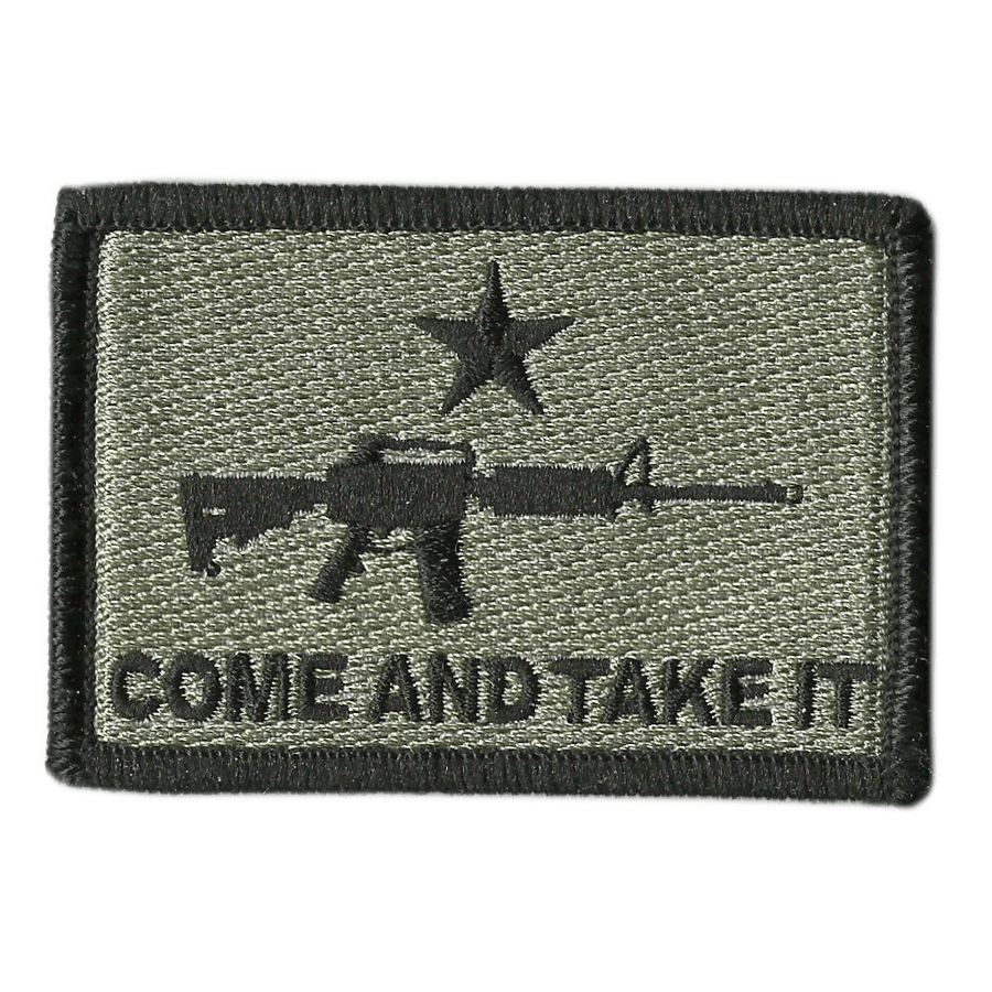 Come and Take It Tactical Patches