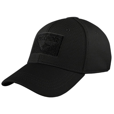 Build Your Fitted Tactical Cap - Black