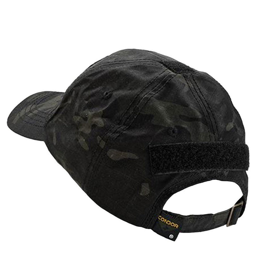 Camo Tactical Hat Builder - Multicam-Black